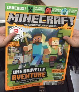 Minecraft - Un nouveau magazine officiel