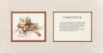 Dinotopia original coming up in October auction
