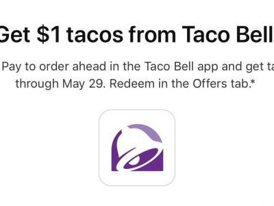 Latest Apple Pay deal offers $1 tacos at Taco Bell