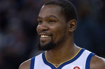 Shannon Sharpe reacts to Kevin Durant's performance in the Warriors' win over the Cavs