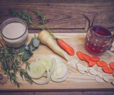 Parsnip, Carrot, and Fennel Shrub