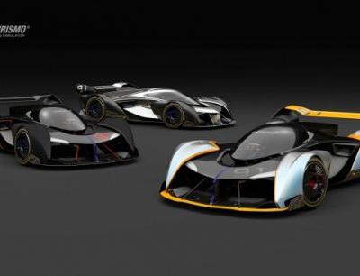 McLaren Vision Gran Turismo Concept Car Uses Central Seating Position-with a Twist
