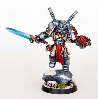 Tutorial: How to paint Grey Knights