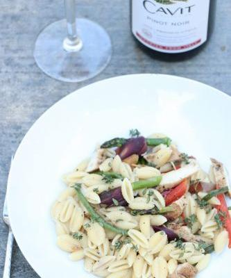 Ultimate Spring Pasta and Wine Dinner