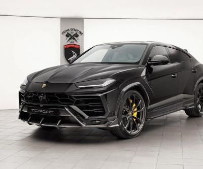 Lamborghini Urus Loaded With Carbon From TopCar Looks Angry