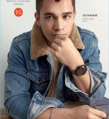 Austin Mahone Stars in Fossil Campaign, Steps Out for Macy's Event