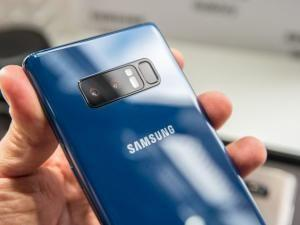 Samsung Galaxy Note 8 Deep Sea Blue Pre-Order Arrives In Europe €999: Ships October 26