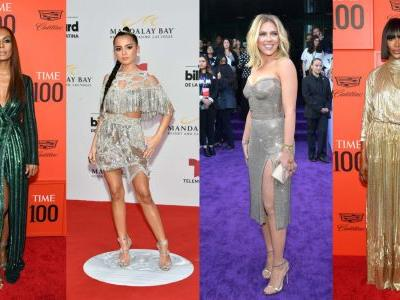 This Week's Best-Dressed Celebrities Shimmered and Sparkled on the Red Carpet