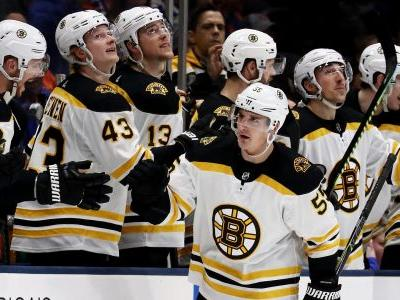 NHL playoffs 2019: Bruins' Noel Acciari ignites second round with shorthanded goal against Blue Jackets
