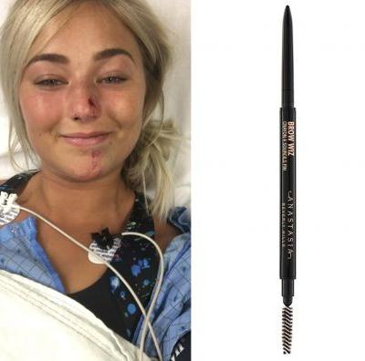 This Eyebrow Pencil Survived a Car Crash, and One Woman Wants the World to Know