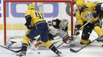 NHL Live: Anaheim Ducks at Nashville Predators, Game 6
