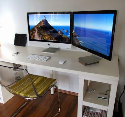 20 Beautiful Modern White Computer Desk Pictures