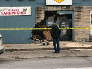 SUV Crashes Into Des Moines Neighborhood Grocery