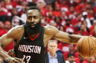 Shannon Sharpe thinks we'll see James Harden bounce back after Houston's Game 2 loss