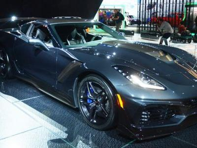 Want The First Production 2019 Corvette ZR1? Head To Arizona In January