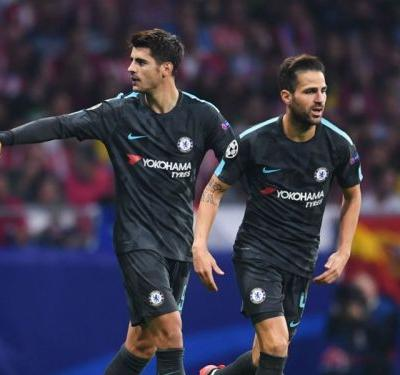 Conte rules Morata and Fabregas out of Arsenal clash