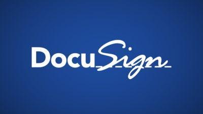 A new CEO for DocuSign