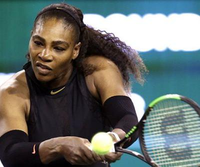 Serena Williams' first victory since giving berth wasn't easy