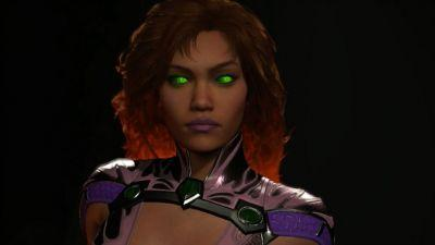 New Injustice 2 DLC Trailer Shows Starfire In Action