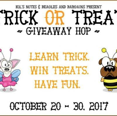 Teaching Your Dog Tricks for Treats Giveaway TrickorTreatDogs