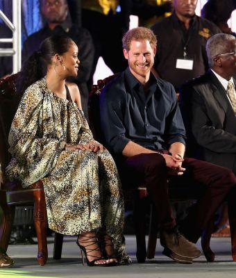 Rihanna & Prince Harry Get HIV Tests Together