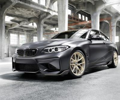 BMW M2 M Performance Parts Concept Focuses On Weight Saving