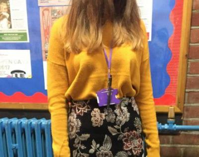 Model student says she was sent home from school for wearing an 'inappropriate' outfit