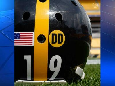 Steelers to wear 'DD' decal on helmets to honor WR coach Drake
