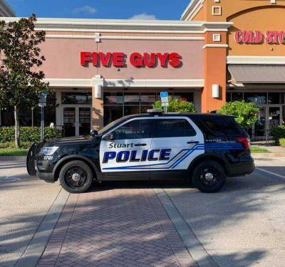Five guys arrested at Five Guys restaurant