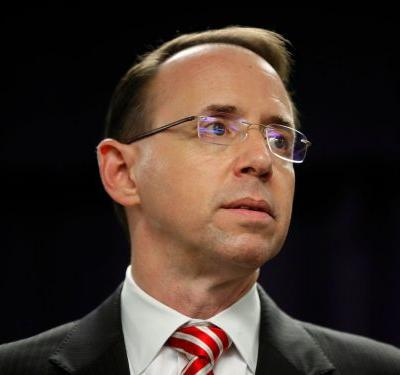 Robert Mueller's investigators interviewed Rod Rosenstein, who is overseeing the Russia investigation