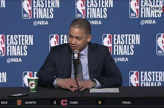 Ty Lue: Other guys stepped up, LeBron 'brought us home'