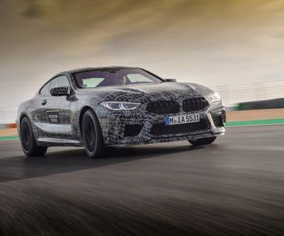 BMW M8 On Its Way - Here Are Some Official Testing Shots