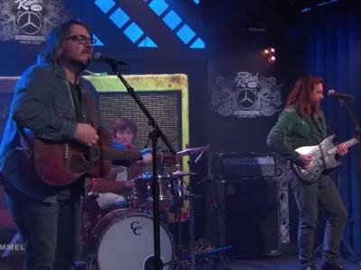 Watch Jeff Tweedy Play Kimmel With His Sons, Blake Mills, Liam Finn, & James Elkington