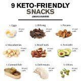 Listen Up! These Are the Best Snacks to Eat When You're Following the Keto Diet
