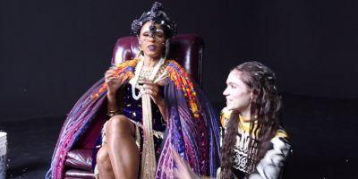 """Go Behind the Scenes of Grimes and Janelle Monáe's """"Venus Fly"""" Video"""