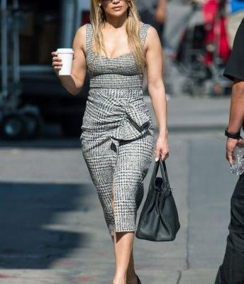 Jennifer Lopez Wore the Power Outfit Every Working Girl Needs