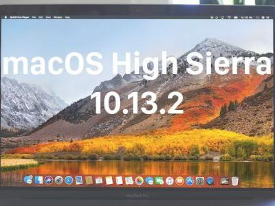 Apple Releases macOS High Sierra 10.13.2 With Compatibility Improvements for Third-Party USB Audio Devices
