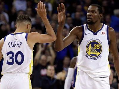 Warriors Stephen Curry, Kevin Durant out against Kings