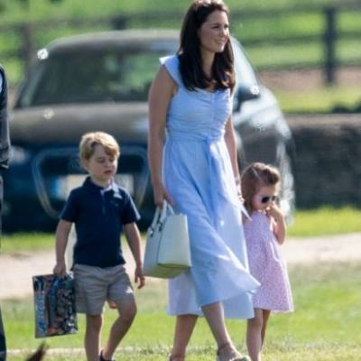 Kate Middleton Wears A Summery $80 Zara Dress To Watch Prince William Play Polo