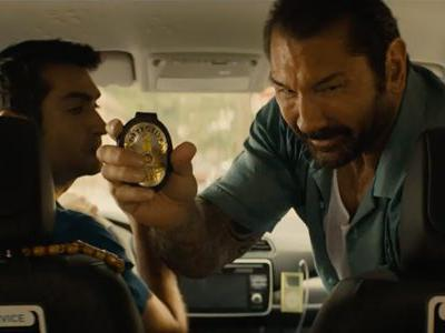 Stuber Trailer Has Dave Bautista And Kumail Nanjiani On A Funny, Wild Ride