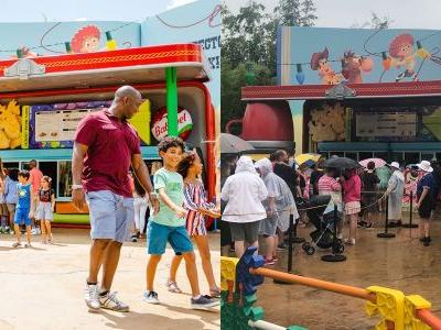 There's only one place to get food in Toy Story Land - here's what it's really like to eat there