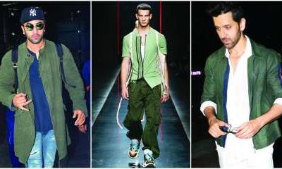 From Hrithik Roshan to Ranbir Kapoor: Sage green casts its spell