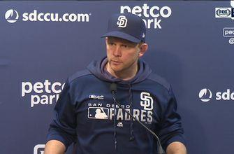 Padres manager Andy Green on the 8-2 loss to Colorado