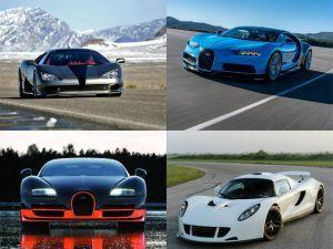 Top 5 Fastest Production Cars In The World
