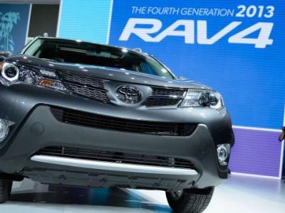 1.9 Million Toyota RAV4s Investigated For Catching Fire