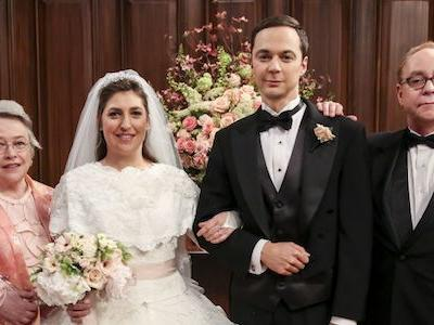 How Amy And Sheldon's Big Bang Theory Wedding Went Down, Complete With Mark Hamill