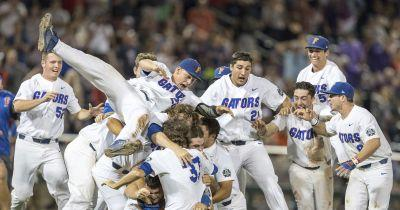 Florida beats SEC rival LSU to win its 1st NCAA baseball title