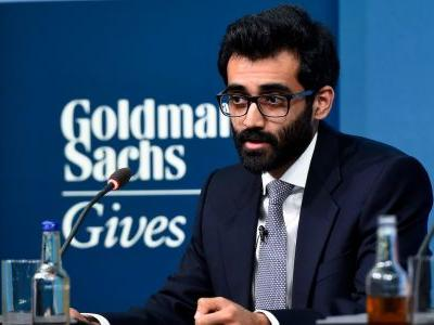 This 24-year-old Goldman Sachs banker wants to solve the global water crisis - and the bank just gave him $150,000 to get started