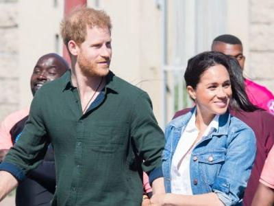 Meghan Markle Wore a Thing: Madewell Denim Jacket in Africa Edition