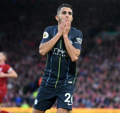Liverpool 0 Manchester City 0: Mahrez misses late penalty as title favourites cancel each other out